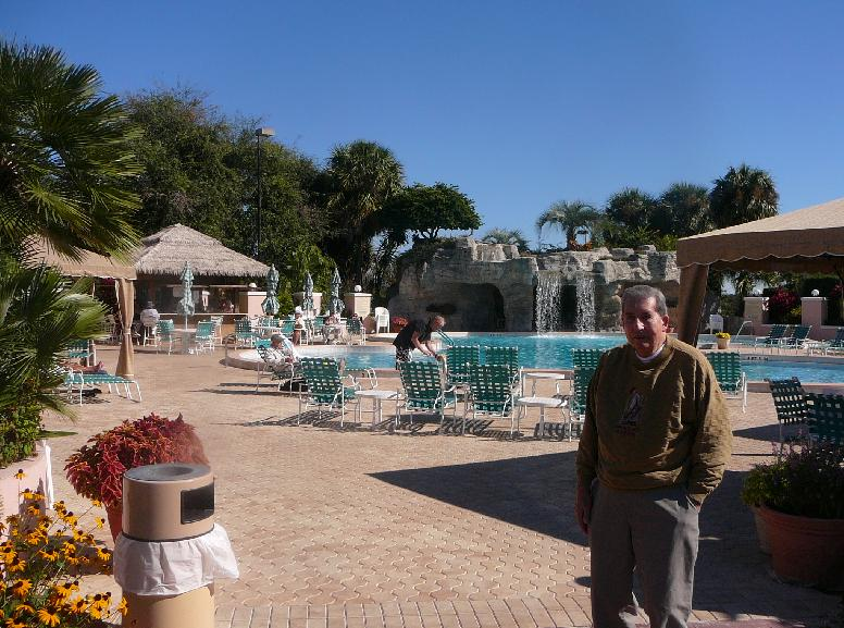 The Country Club pool at the Villages of Orange Blossom Gardens, The Villages, Florida 32159